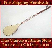 Uyghur Lute Silk Road String Musical Instrument Xinjiang World Music Dutar 60cm