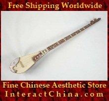 Uyghur Lute Silk Road String Musical Instrument Xinjiang World Music Tambur 125cm