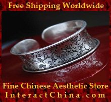 Fine 999 Cuff Bracelet High Purity Sterling Silver Jewelry 100% Handcrafted #105