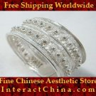 Fine 99 Cuff Bracelet High Purity Sterling Silver Jewelry 100% Handcrafted #135