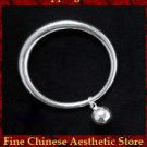 Fine 999 Cuff Bracelet High Purity Sterling Silver Jewelry 100% Handcrafted #142