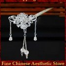 Fine 999 Hair Accessories Stick Pin Sterling Silver Jewelry 100% Handcrafted #115