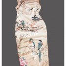 Premium Silk Top Tailor Artistry Cheongsam Qipao Gown Dress - Free Custom Made #107