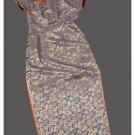 Premium Silk Top Tailor Artistry Cheongsam Qipao Gown Dress - Free Custom Made #112