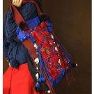 100% Handmade Handbag Purse Tote Shopper Bag - Fine Oriental Embroidery Art #113