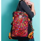 100% Handmade Handbag Purse Tote Shopper Bag - Fine Oriental Embroidery Art #164