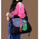 100% Handmade Handbag Purse Shoulder Sling Bag - Fine Oriental Embroidery Art #145