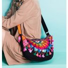 100% Handmade Handbag Purse Shoulder Sling Bag - Fine Oriental Embroidery Art #153