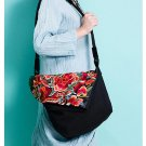 100% Handmade Handbag Purse Shoulder Sling Bag - Fine Oriental Embroidery Art #156