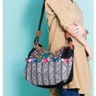 100% Handmade Handbag Purse Shoulder Sling Bag - Fine Oriental Embroidery Art #161