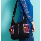 100% Handmade Handbag Purse Shoulder Sling Bag - Fine Oriental Embroidery Art #162