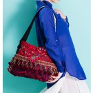 100% Handmade Handbag Purse Shoulder Sling Bag - Fine Oriental Embroidery Art #165