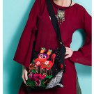 100% Handmade Handbag Purse Shoulder Sling Bag - Fine Oriental Embroidery Art #168