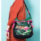 100% Handmade Handbag Purse Shoulder Sling Bag - Fine Oriental Embroidery Art #169