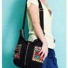 100% Handmade Handbag Purse Shoulder Sling Bag - Fine Oriental Embroidery Art #172