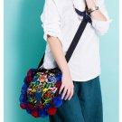 100% Handmade Handbag Purse Shoulder Sling Bag - Fine Oriental Embroidery Art #173