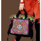 100% Handmade Handbag Purse Satchel Duffle Bag - Fine Oriental Embroidery Art #119