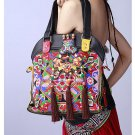 100% Handmade Handbag Purse Satchel Duffle Bag - Fine Oriental Embroidery Art #140