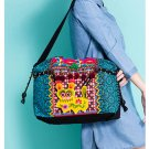 100% Handmade Handbag Purse Satchel Duffle Bag - Fine Oriental Embroidery Art #158