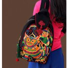 100% Handmade Handbag Purse Backpack Tribal Bag - Fine Oriental Embroidery Art #110