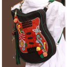 100% Handmade Handbag Purse Backpack Tribal Bag - Fine Oriental Embroidery Art #129