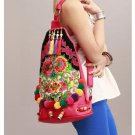 100% Handmade Handbag Purse Backpack Tribal Bag - Fine Oriental Embroidery Art #132