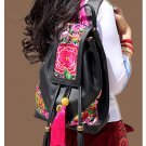 100% Handmade Handbag Purse Backpack Tribal Bag - Fine Oriental Embroidery Art #148