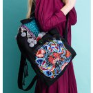 100% Handmade Handbag Purse Backpack Tribal Bag - Fine Oriental Embroidery Art #166