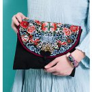 100% Handmade Handbag Purse Clutch Evening Bag - Fine Oriental Embroidery Art #159