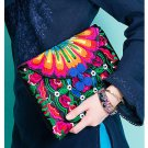 100% Handmade Handbag Purse Clutch Evening Bag - Fine Oriental Embroidery Art #163