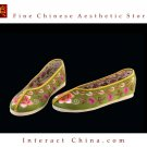 Women Slip On Casual Flat Espadrilles Shoe Handmade Sole Comfy Silk Brocade #109