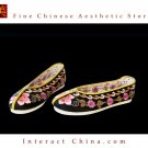 Women Slip On Casual Flat Espadrilles Shoe Handmade Sole Comfy Silk Brocade #112