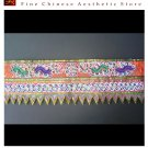 Asian Vintage Textile Art Antique Applique Embroidery 100% Ethnic Needlework #103