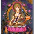 Tibet Tibetan Thangka Tangkas Buddha Buddhist Art Thanka Mineral Painting #070