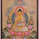 Tibet Tibetan Thangka Tangkas Buddha Buddhist Art Thanka Mineral Painting #079