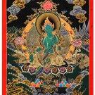 Tibet Tibetan Thangka Tangkas Buddha Buddhist Art Thanka Mineral Painting #084