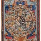 Tibet Tibetan Thangka Tangkas Buddha Buddhist Art Thanka Mineral Painting #088