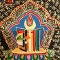 Tibet Tibetan Thangka Tangkas Buddha Buddhist Art Thanka Mineral Painting #095