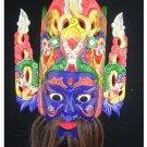 Chinese Drama Home Wall Décor Opera Mask 100% Wood Craft Folk Art #128 Pro Level