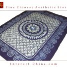 "100% Handcraft Batik Artwork All Cotton 58x76"" Bedding Bed Sheet Spread Linen #235"