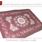 "100% Handcraft Batik Artwork All Cotton 58x78"" Bedding Bed Sheet Spread Linen #104"