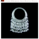 Silver Necklace Vintage Costume Tribal Jewelry 100% Handcrafted Jewellery Art #114