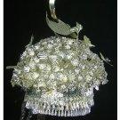 Silver Tiara Vintage Costume Tribal Jewelry 100% Handcrafted Jewellery Art #121