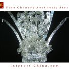 Silver Tiara Vintage Costume Tribal Jewelry 100% Handcrafted Jewellery Art #111J