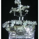 Silver Tiara Vintage Costume Tribal Jewelry 100% Handcrafted Jewellery Art #101SG