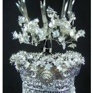 Silver Tiara Vintage Costume Tribal Jewelry 100% Handcrafted Jewellery Art #101LG