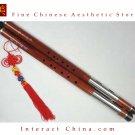 Premium Sandalwood Bawu Flute Chinese Ba Wu Pipe Woodwind Dual Pipe #107 - Pro Level
