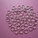 Silverplated Jump Rings 6mm (50pcs)