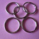 Silver Color Metal Spilt Key Rings