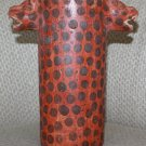 BOUTIQUE LEOPARD WINE BOTTLE / HOLDER